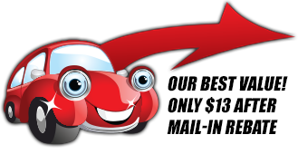 Ultimate Clean Car Wash Package - Our Best Value!
